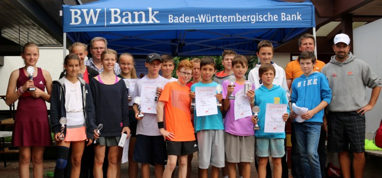 10. BW-Bank Young-Players-Cup und 3. BW-Bank Future-Cup