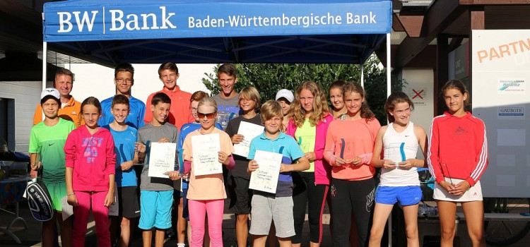 11. BW Bank Young Players Cup mit sehr guter Resonanz