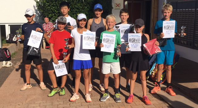 Young Players Cup: Volles Haus bei bestem Tenniswetter