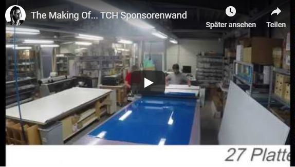 Video: The Making Of… Sponsorenwand